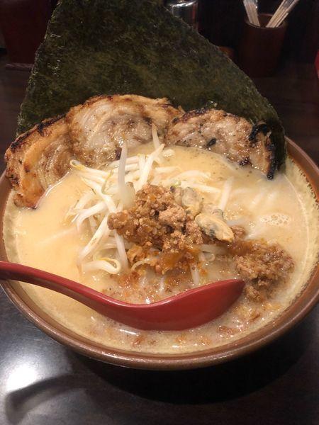「江戸前味噌炙りチャーシュー麺」@麺場 田所商店 潮来店の写真