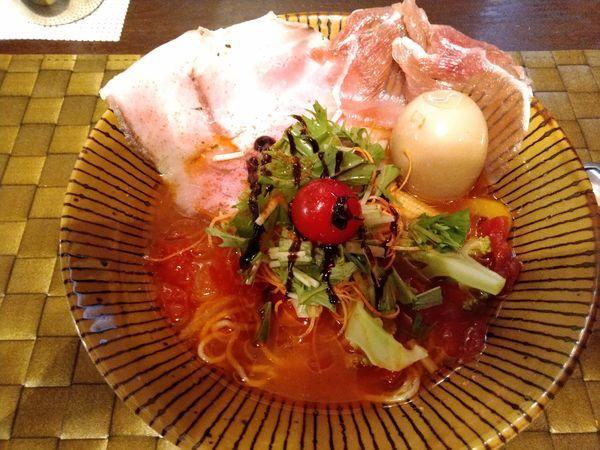 「トマトラーメン」@イワッチーナ邸 La麺CUCINAの写真