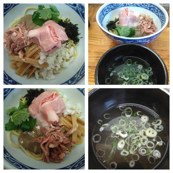 「煮干し油そば(スープ付)」@中華そば よしかわの写真