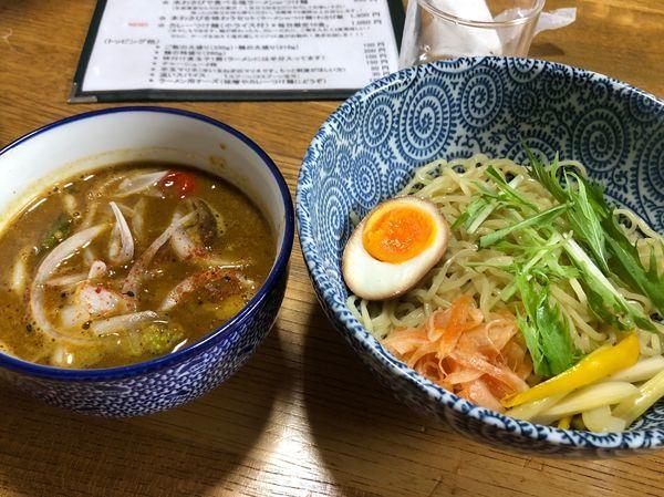 「カレーつけ麺」@伊豆あまからやの写真