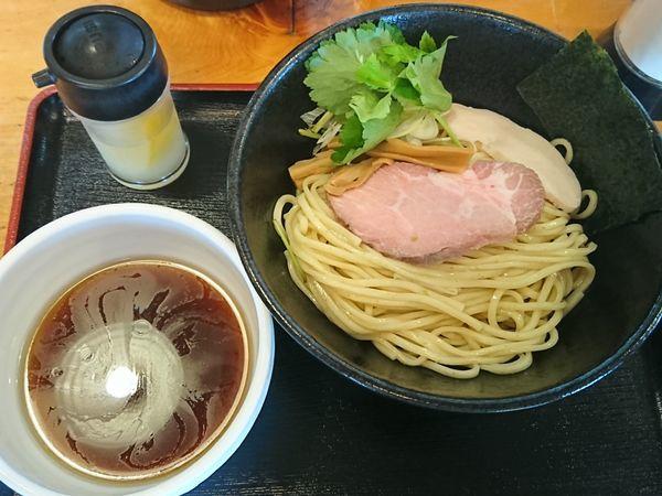 「【限定】冷しざる煮干 ¥850」@中華そば 田家 本店の写真