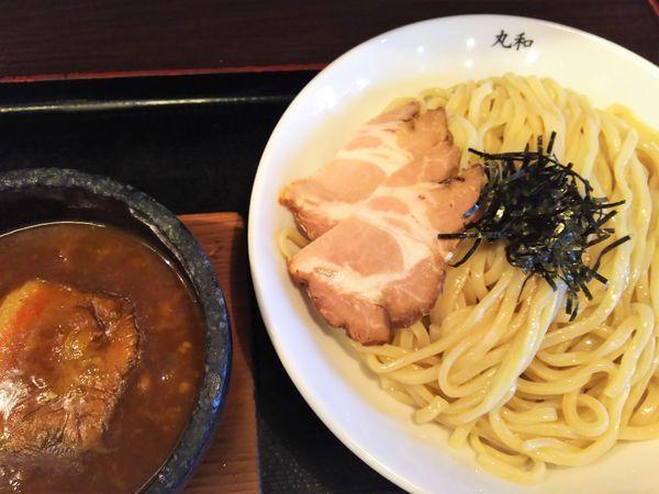「嘉六カレーつけ麺 大盛¥830+ごはん¥0(ランチサービス)」@つけ麺 丸和 春田本店の写真