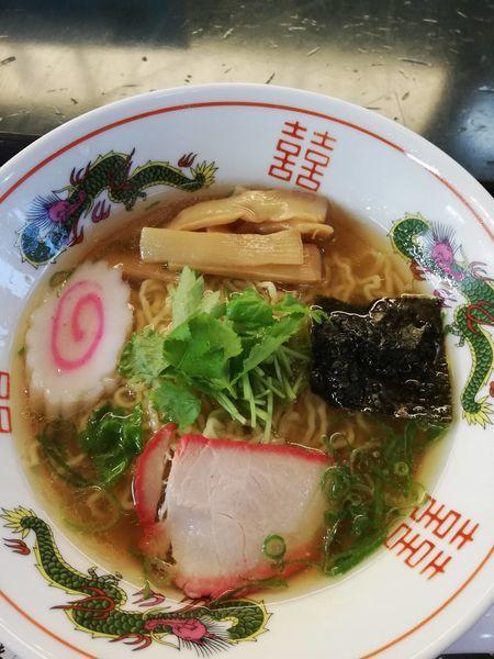 「ラーメン」@麺処若武者 弐號店 みどり湯食堂の写真