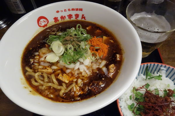 「辛っとろ麻婆麺」@辛っとろ麻婆麺 あかずきん 蒲田店の写真