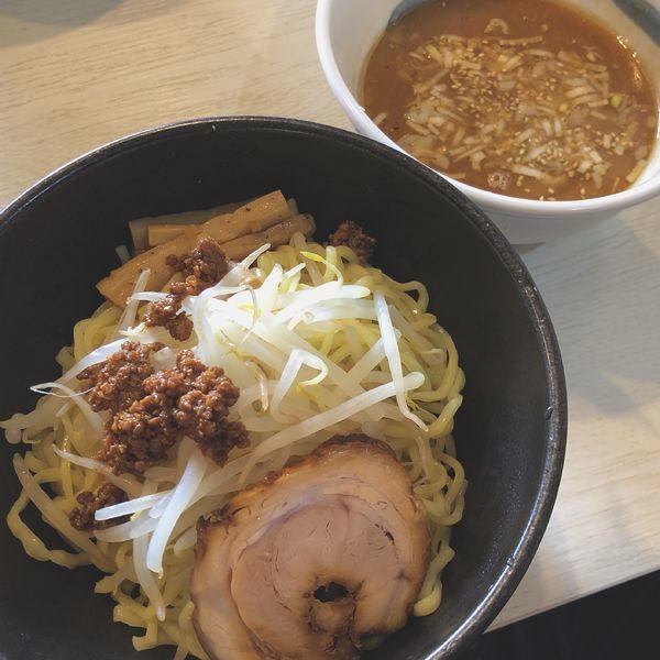 「【限定】味噌つけ麺+アサヒビール(中瓶)」@麺屋 誉の写真