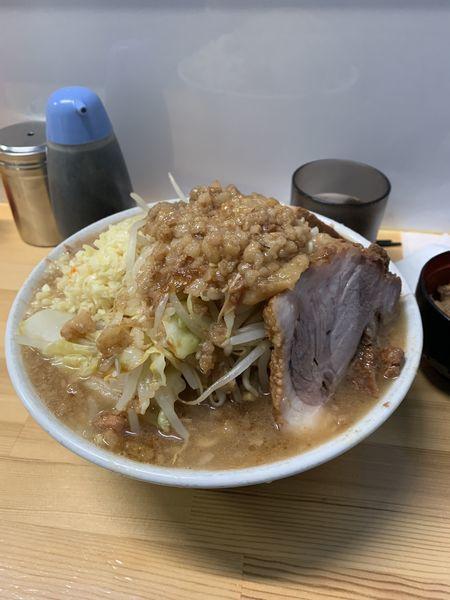 「ラーメン全マシ」@ラーメン荘 夢を語れ Yume Wo Katare Tokyoの写真
