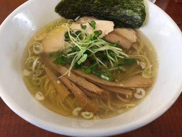 「しおそば:750円」@麺や 吉四 KiCCHOの写真