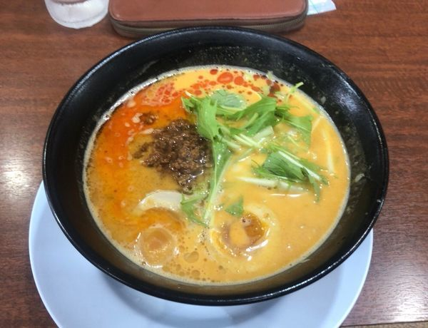「マーラー坦々麺 大盛」@ラーメンばんだいの写真