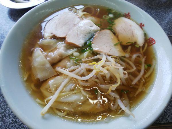 「ワンタン麺 550円」@中華料理 松原 南華園 本店の写真