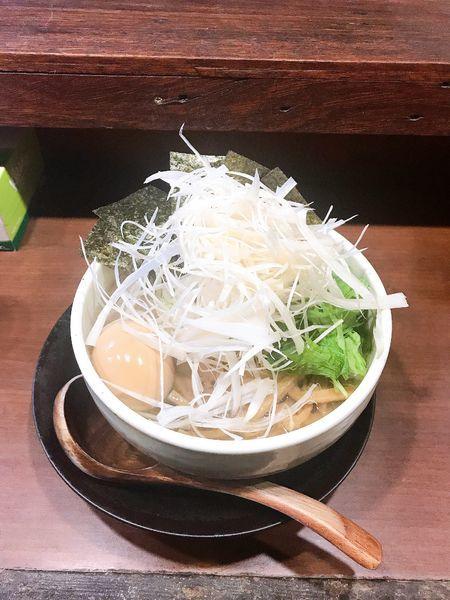 「特麺たつ塩ラーメン + 白髪ねぎ」@ラーメン 麺たつの写真