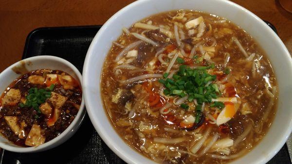 「サンラータンメン」@中華香彩 JASMINE 口福厨房 日本橋店の写真