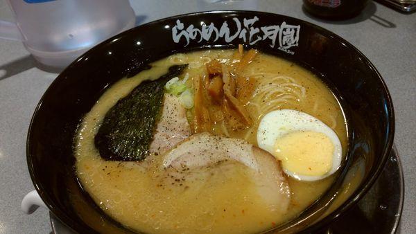 「味噌らーめん」@らあめん花月嵐 瀬谷南口店の写真