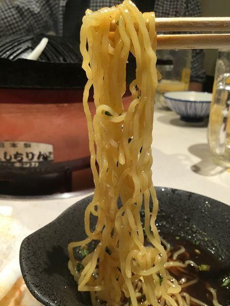「つけ麺280円+税」@大衆ジンギスカン酒場 ラムちゃん 柏店の写真
