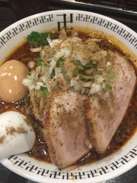 「特製スパイスラーメン」@スパイス・ラー麺 卍力の写真