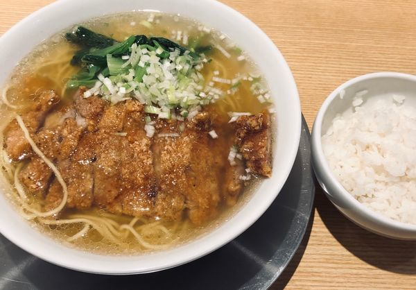 「排骨塩(麺固め¥980)」@排骨担々 五ノ井の写真