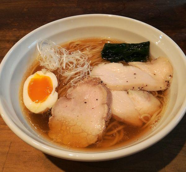 「醤油ラーメン」@麺屋 GONZOの写真