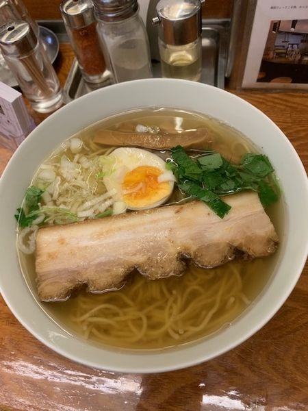 「和風柳麺 670円」@麺屋ひょっとこの写真