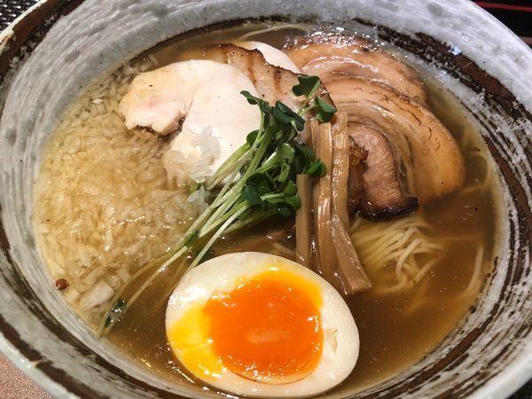 「石窯あご出汁麺980円」@西山屋の写真