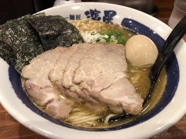「特製濃厚煮干し蕎麦」@濃厚煮干しそば 麺匠 濱星 関内店の写真