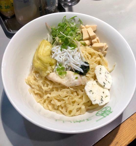 「週末限定・しらすと生海苔の鯛の香りのあえそば¥900円」@中華蕎麦 瑞山(ZUIZAN)の写真