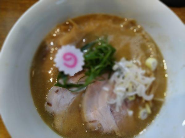 「醤油そば(こってり)」@中華そば 桐麺の写真