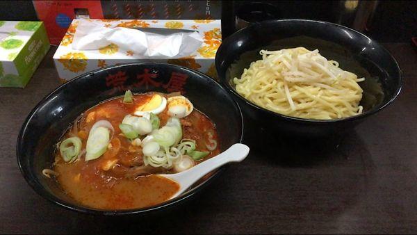 「冷やし五目麻婆麺」@元祖旨辛系タンメン 荒木屋の写真
