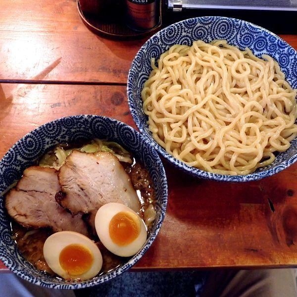 「スペシャルつけ麺 大盛(麺1.5玉 1,100円)」@つけ麺本舗 一億兆の写真