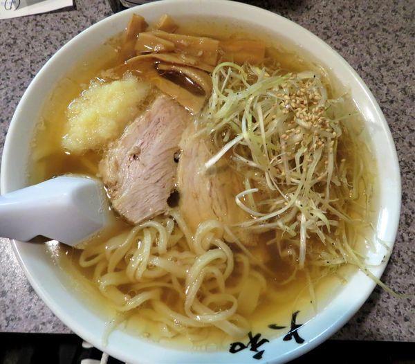 「ねぎらーめん(730円)」@佐野青竹手打ちラーメン 大和の写真