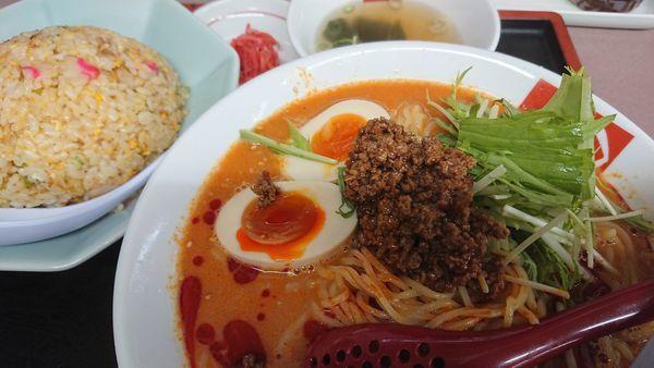 「冷しタンタン麺」@ラーメン ばんだい 嵐山店の写真