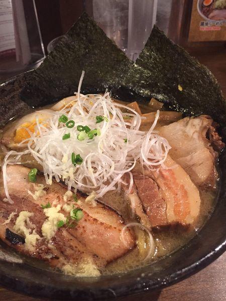 「三種肉味噌ラーメン」@らーめん空 札幌ら~めん共和国店の写真