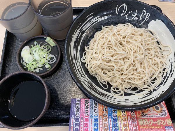 「もり 320円」@ゆで太郎 入間宮寺店の写真