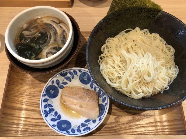 「【ぬるぬる】昆布水つけ麺」@麺処つむじの写真