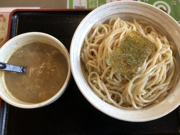 「魚介豚骨つけ麺 大盛り」@らーめん えん者 籠原店の写真