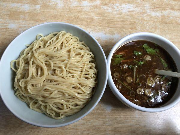 「魚焦がしつけ麺 大盛り」@大らーめん 福籠の写真
