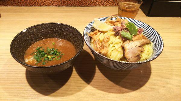 「子羊(ラム)つけめん(ノーマル)」@自家製麺 MENSHO TOKYOの写真