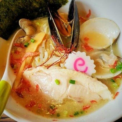 「貝ダシ塩らぁめん 850円」@麺処いっ歩の写真