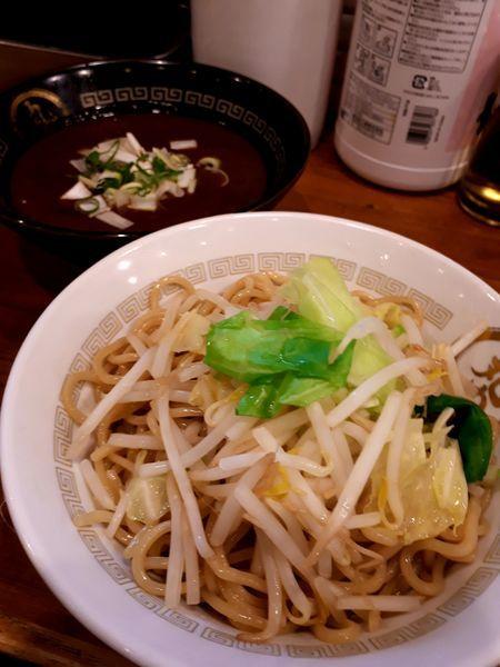 「(限定)煮干カレーつけ麺880円」@背脂煮干 丸め 新所沢店の写真