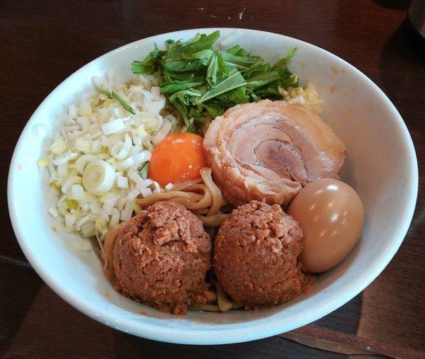 「【限定】冷やしジャジャ麺」@らーめんコジマル 東金店の写真