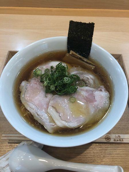 「しょうゆチャーシュー麺」@らぁ麺 飯田商店の写真
