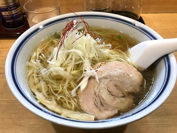 「ラーメン 塩(麺大盛り)」@利尻昆布ラーメン くろおびの写真