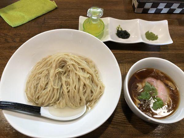「【ぬるぬる】鶏と水つけ麺 鰹昆布水」@麺.SUZUKiの写真