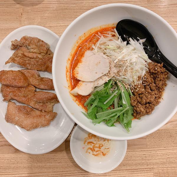 「排骨冷やし担々麺 2辛」@かつぎやの写真