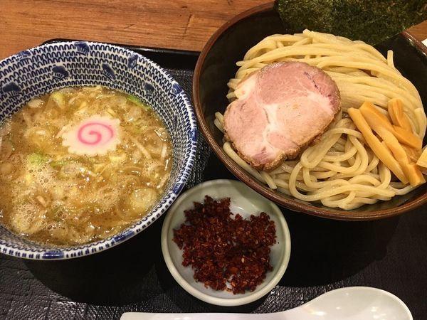「赤からつけ麺(並)」@舎鈴 クロスガーデン川崎店の写真