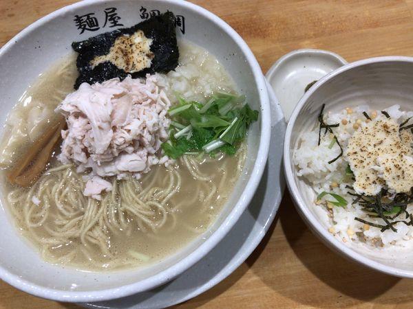 「真鯛白湯(塩)茶漬けセット」@麺屋 鯛鯛の写真