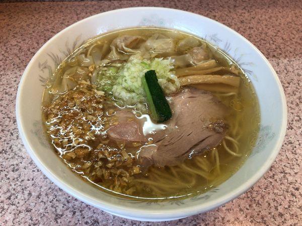 「塩ネギワンタンメン」@ラー麺専門店 こしがやの写真