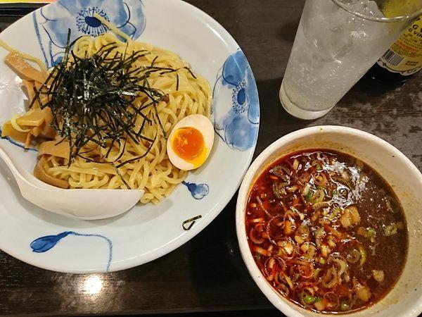 「四川特製つけ麺(800円)」@龍の子 所沢店の写真
