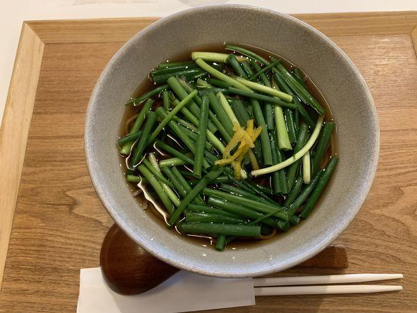 「ネギそば 880円」@石臼挽き蕎麦 あずみ野の写真