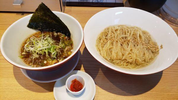 「昆布つけ麺 900円 ☆」@初代葱寅 御茶ノ水店の写真