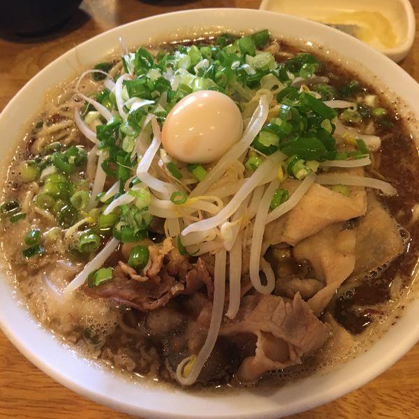 「さんま醤油 麺ダブル」@らーめん ふじもとの写真