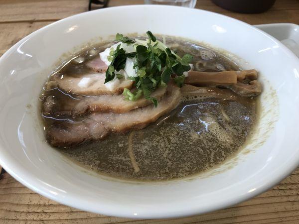 「煮干しそば」@The Noodles & Saloon Kiriyaの写真